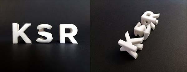 3D PRINTED MODELS OF KSR