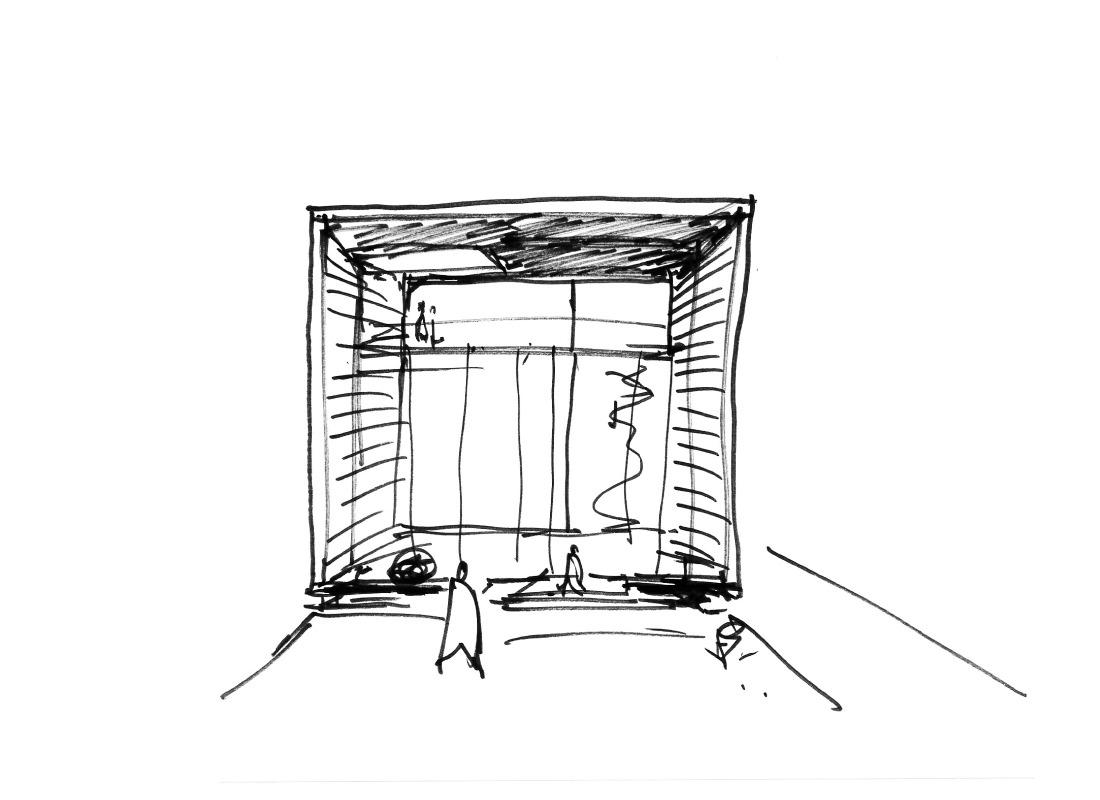 AIR BUILDING Sketch