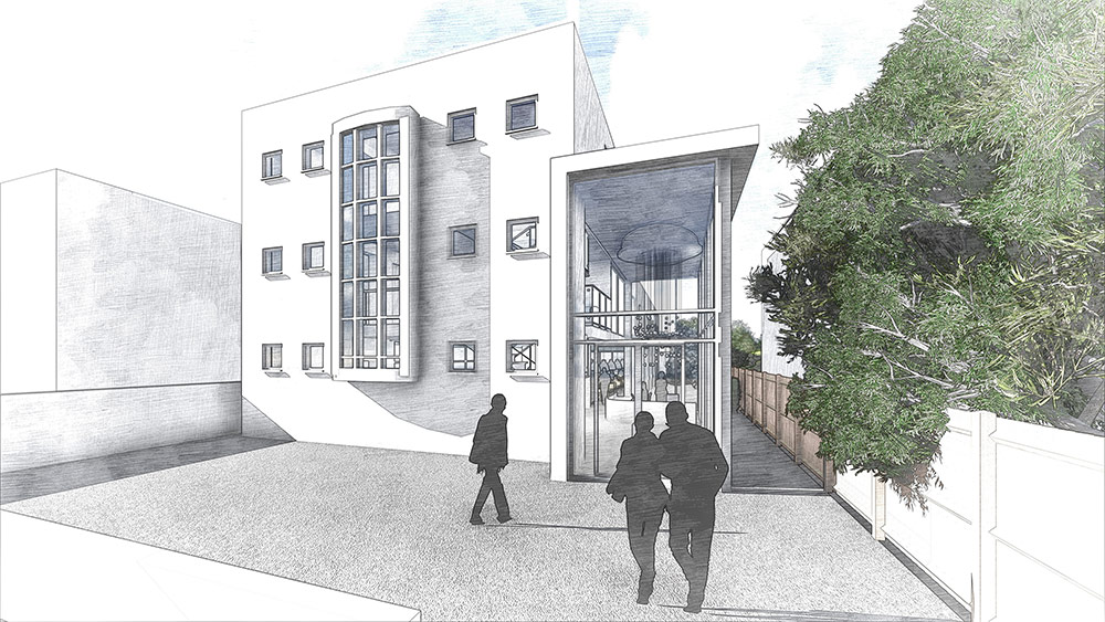 Planning permission: The Exchange drawing 01
