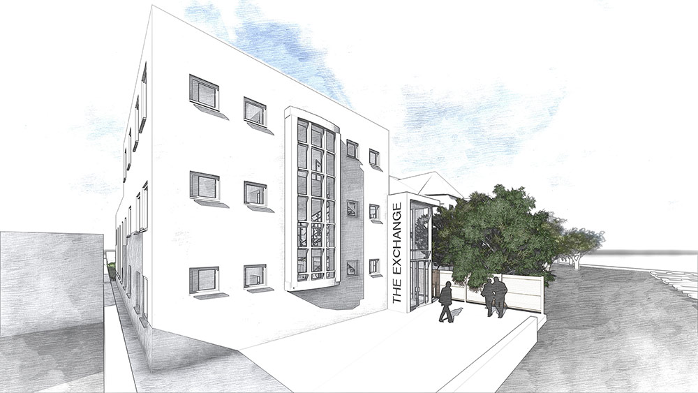 Planning permission: The Exchange drawing 02