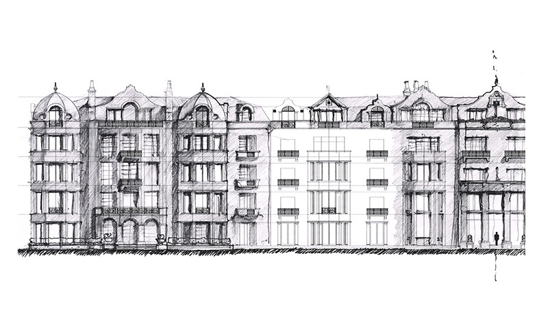 Moscow Apartments sketch