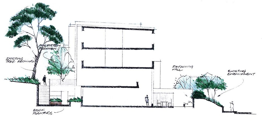 Tercelet Terrace, Hampstead sketch 02