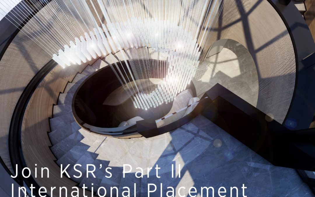JOIN KSR CHINA'S PART II STUDENT PLACEMENT 2018