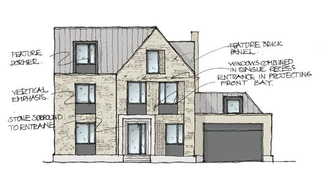 Razdory Housing sketch