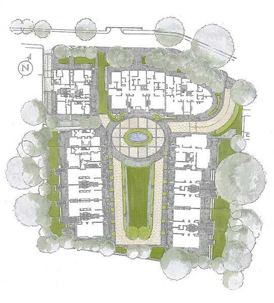 Phillimore Square sketch