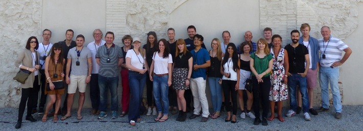 The KSR team in Barcelona