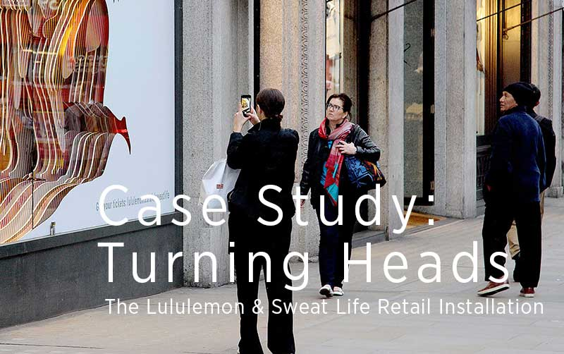 lululemon installation case study