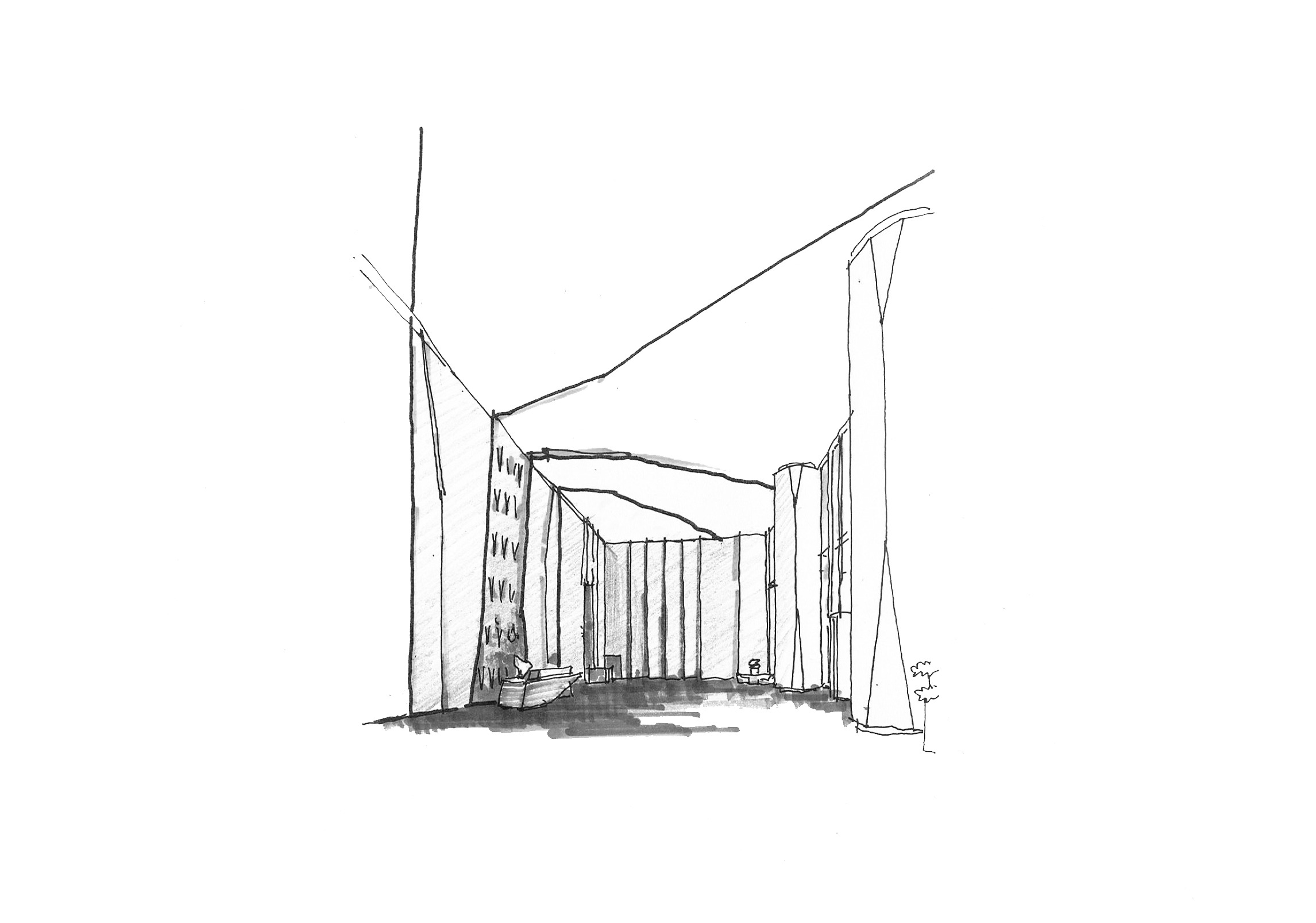 Excellence Century Centre Installation sketch